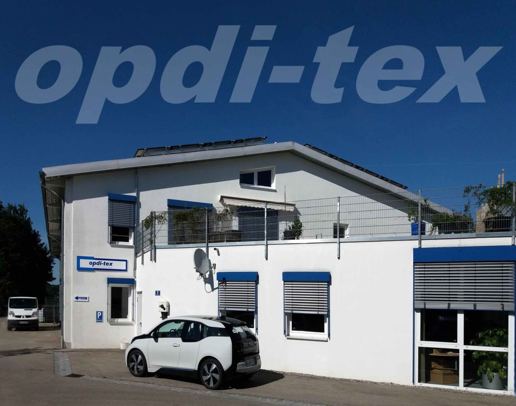 opdi-tex Firmensitz in Eresing